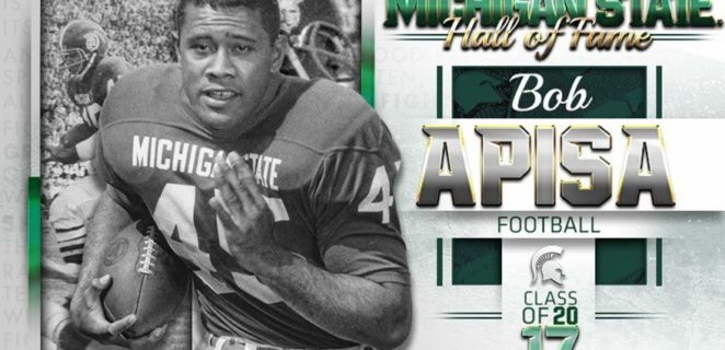 Another Hall of Fame tour for Bob Apisa
