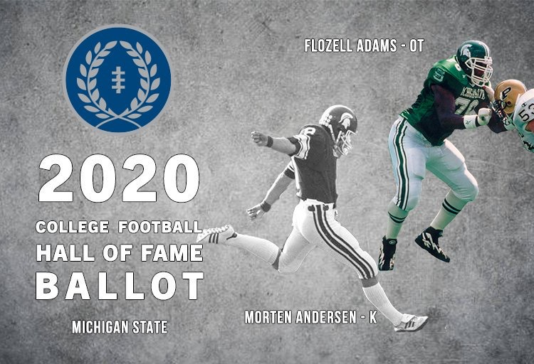 2020 College Football Hall of Fame Ballot - MSUFPA